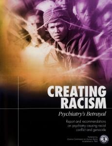 製造種族主義,精神病學的背叛