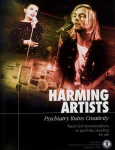 פגיעה באמנים, פסיכיאטריה גורמת הרס של היצירתיות