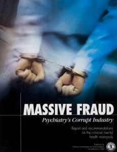 大規模的詐欺,精神病學的腐敗產業
