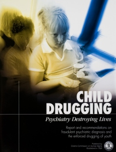Child Drugging, Psychiatry Destroying Lives (Doping av barn: Psykiatri ødelegger liv)
