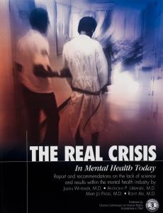 Den verkliga krisen inom dagens psykiatri
